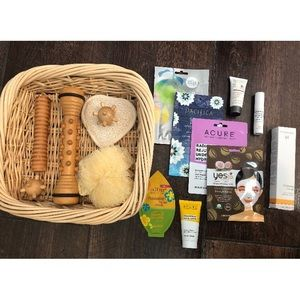Spa Day Self Care Package Facial Scrubs Massagers